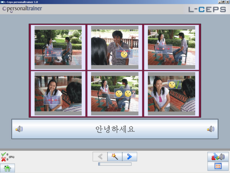 Click to view L-Lingo Korean 4.0 screenshot