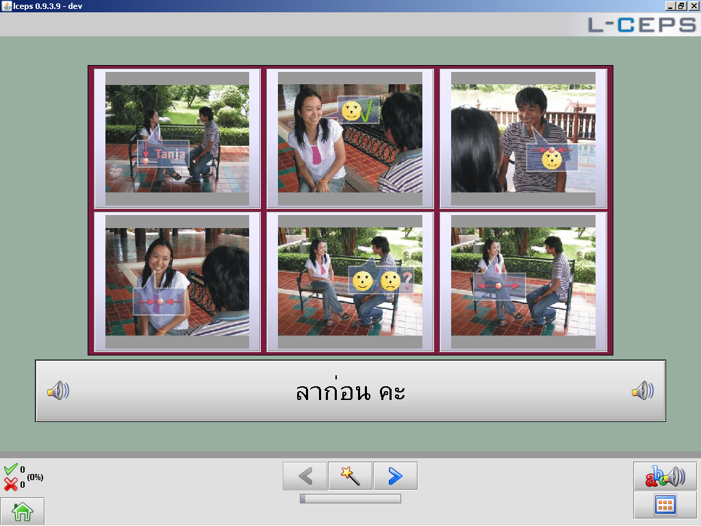 Language learning software for Thai.